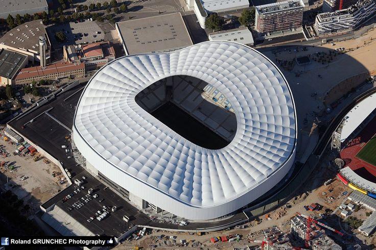 le nouveau stade Vélodrome -MARSEILLE, Il est trés cool!!
