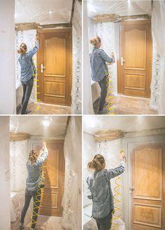 17 mejores ideas sobre pintura de la puerta principal en - Lacar muebles a pistola ...