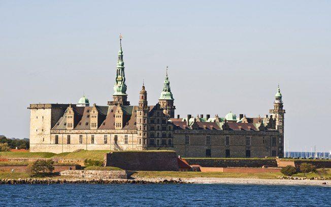 Castelo de Kronborg, Dinamarca. Patrimônio histórico da humanidade, fortificação do século 15 ficou famosa por abrigar diversas representações de 'Hamlet', de Shakespeare