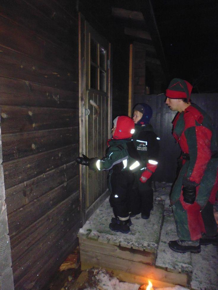 Father Christmas's House! Saariselka, Lapland, Santa's Lapland, Father Christmas, Santa Claus, Finland, Christmas, snow, http://globalmousetravels.com/2013/12/trip-review-lapland-santas-lapland/