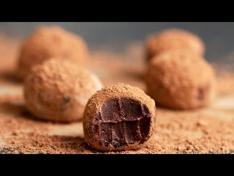 Easy Chocolate Truffles 4 Ways - YouTube