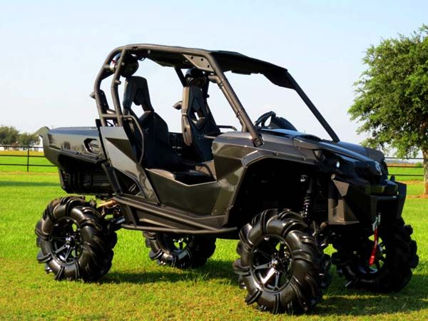 M12 Diesel UTV Wheels on 2013 Can-Am Carbon Commander 10