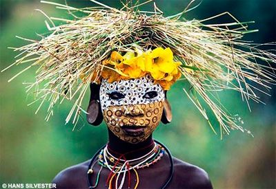 Face Painting: Omo Valley, Faces, Hans Silvester, African, Art, Tribal, People, Culture, Natural Fashion