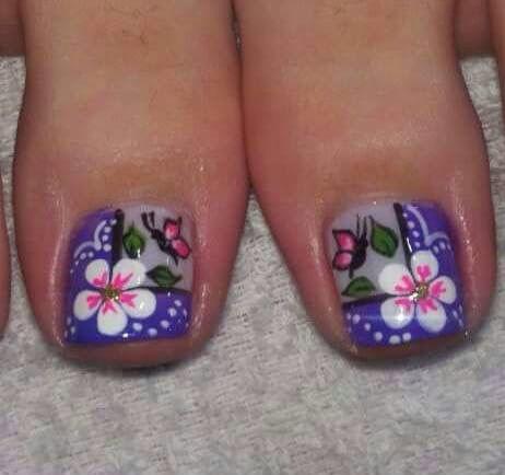 Pinceladas para los pies                                                                                                                                                     Más