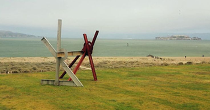 Mark di Suvero at Crissy Field, Time-Lapse of installation