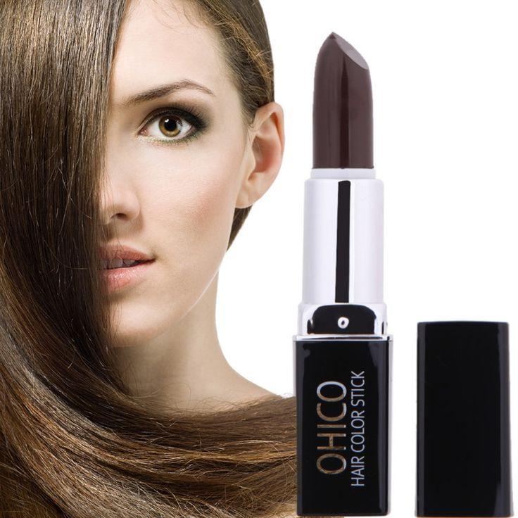 4 Farbe Heißer Verkauf Temporäre Haarfärbemittel Lippenstift Kreide-zeichenstifte Malen Unisex DIY Styling einmalige Haarfarbe