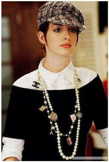 Chanel pearl necklace - The Devil Wears Prada