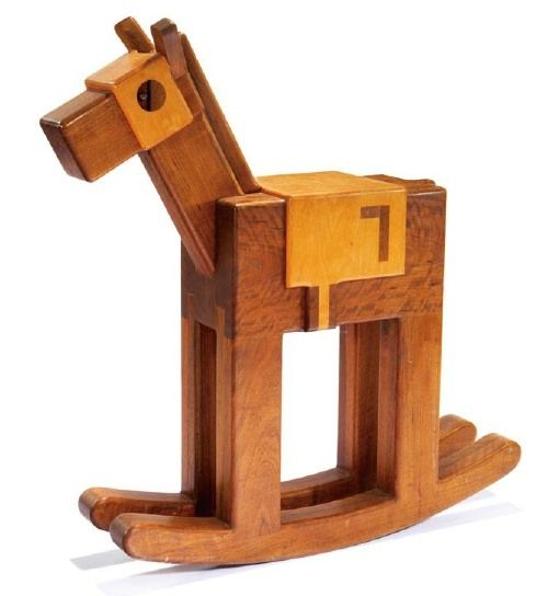Rocking Horse By Pamela Weir. Designed In 1972