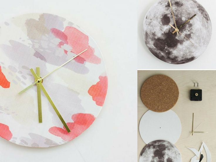 These DIY wall clock ideas are unbelievably creative. You will be shocked by how easy & cheap they are to create. Most can be made in under an hour!