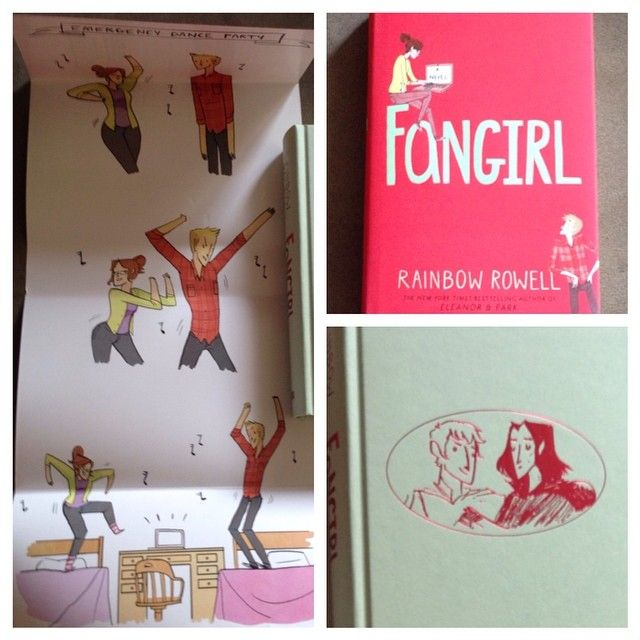 Iconosquare – Instagram webviewer. Rainbow Rowell's Fangirl!