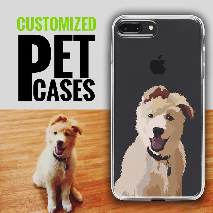 Custom Case Cartoonize Your Pet Big Dog Little Dog Pets Your Pet