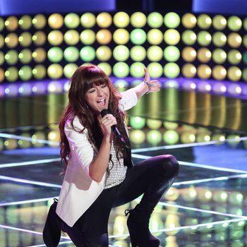"""I came in like a wreeeeeee eee eee e ecking balll, HEY""  Christina Grimmie The Voice: Season 6 Team Adam"