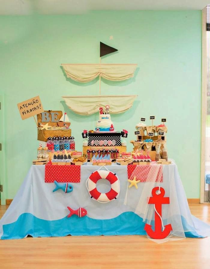 M s de 25 ideas incre bles sobre motivos de fiesta for Decoracion nautica infantil