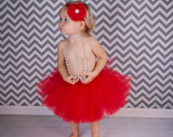 Red Tutu Birthday Tutu Baby-Adult Tutu-Photo Prop Tutu
