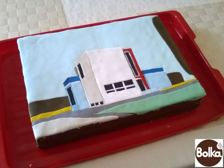 Decorated cake/dísztorta (Bauhaus - http://goo.gl/NCZBxk)