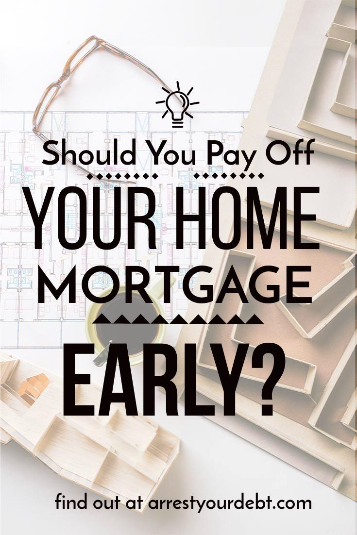 Should I Pay Off My Mortgage Asap Mortgage Personal Finance Paying Off Mortgage Faster