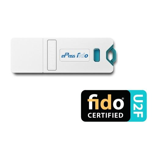 ePass FIDO este compatibil cu orice serviciu U2F care utilizeaza un singur dispozitiv. O pereche de chei va fi generata dupa inregistrarea in orice serviciu U2F. O simpla apasare sau atingere a butonului de la ePass FIDO, va genera credentialele necesare serverului pentru certificarea identitatii utilizatorului. ePass FIDO va fi recunoscut ca dispozitiv HID si va utiliza interfata USB-HID.
