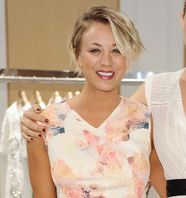 Kaley Cuoco's pixie haircut was inspired by Michelle Williams -Cosmopolitan.co.uk