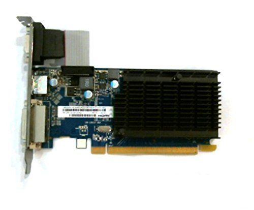 Sapphire Technology HD5450 HM Carte graphique AMD PCI-E 1 Go DDR3 VRAM HDMI / DVI-I / VGA W SAPPHIRE http://www.amazon.fr/dp/B005LGTI06/ref=cm_sw_r_pi_dp_4jHiwb0507YGB