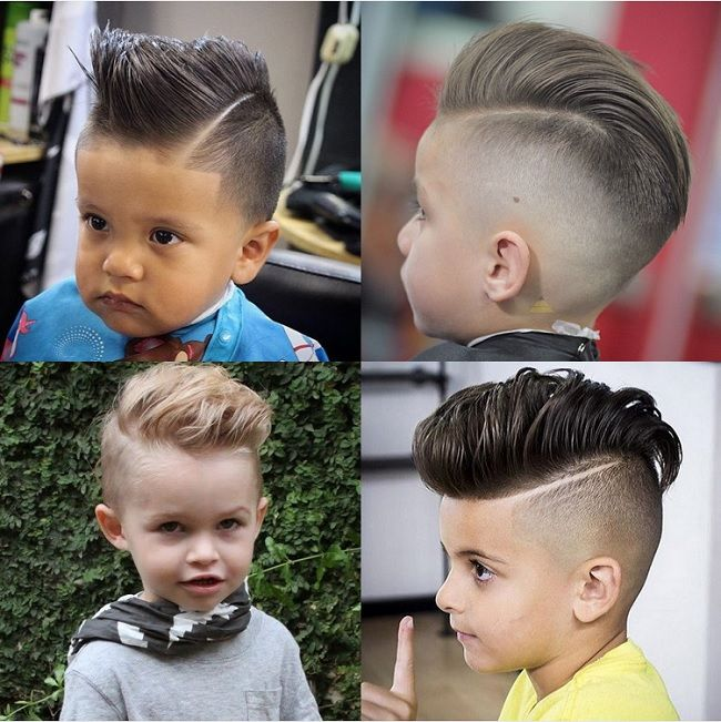 25 Charming Haircuts For Baby Boys To Show Off Child Insider Baby Boy Hairstyles Boy Hairstyles Little Boy Hairstyles