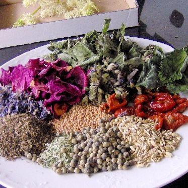 Mediterrane Gewürzmischung mit Rosenblüten und Co. Rezept | Küchengötter
