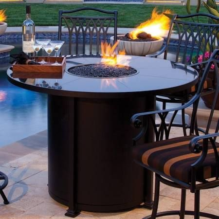 SANTORINI 54-INCH ROUND COUNTER HEIGHT FIRE TABLE - Google ...