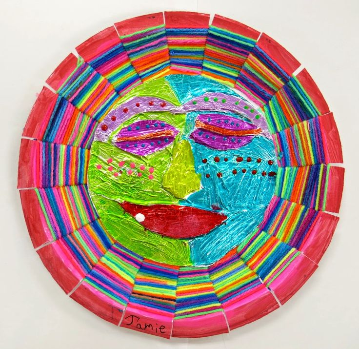 Basket Weaving For Elementary Students : Cassie stephens in the art room mexican sun moon