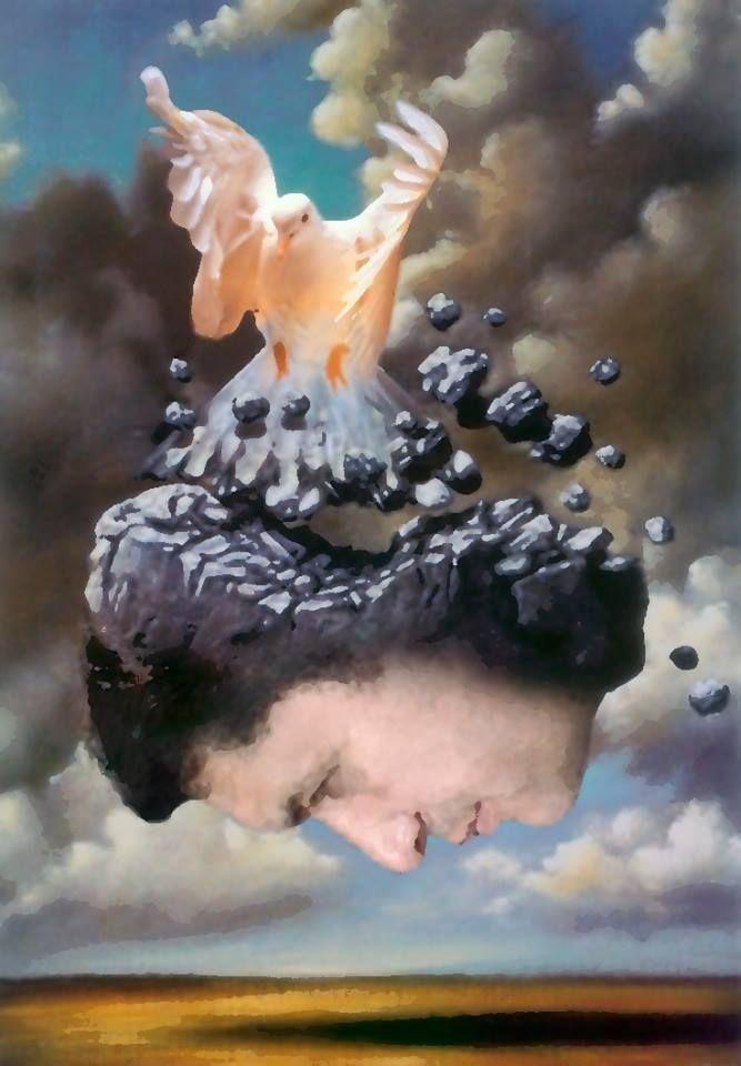 by Antônio Lídio Gomes | Inspired by Rafał Olbiński (b1945 Kielce, Poland; based in The USA since 1981)