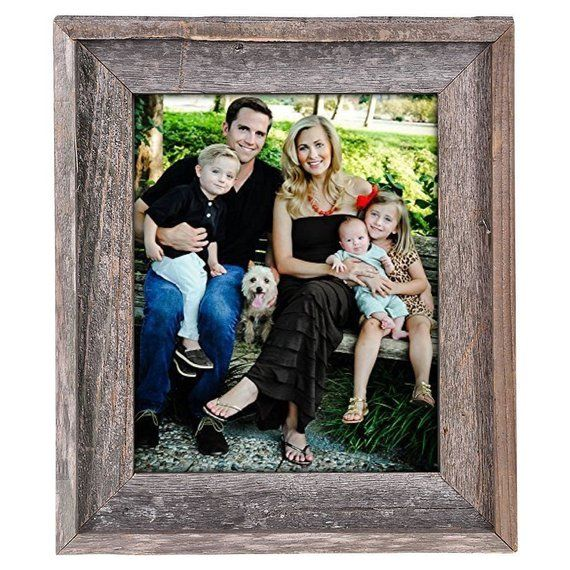 Rustic Wood Picture Frame Barnwood Picture Frame Reclaimed Etsy Barn Wood Picture Frames Wood Picture Frames Rustic Wood Frame