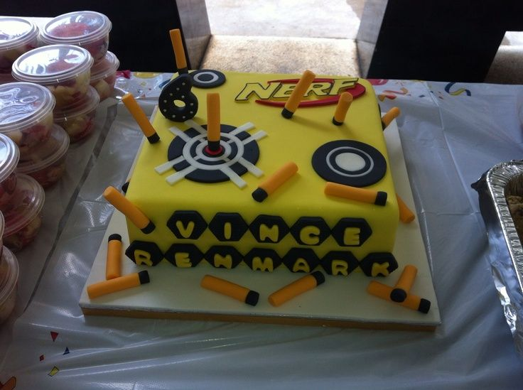Gun Birthday Cake Ideas