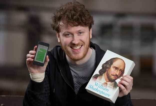 Meet Edd Joseph, 24, from Bristol. This Man Is Trolling An Online Scammer With His Phone And The Complete Works Of Shakespeare. He is simply amazing!
