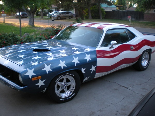 1972 Plymouth Barracuda (Patriotcuda)