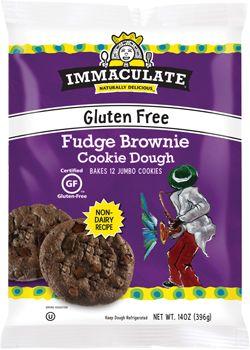 Gluten Free Fudge Brownie Cookie Dough