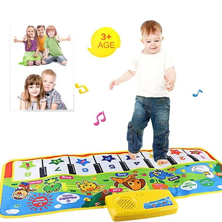 Hot keyboard Touch Play Keyboard Musical Music Instrument Singing Gym Carpet Mat Best Kids Baby Gift musical toys for children