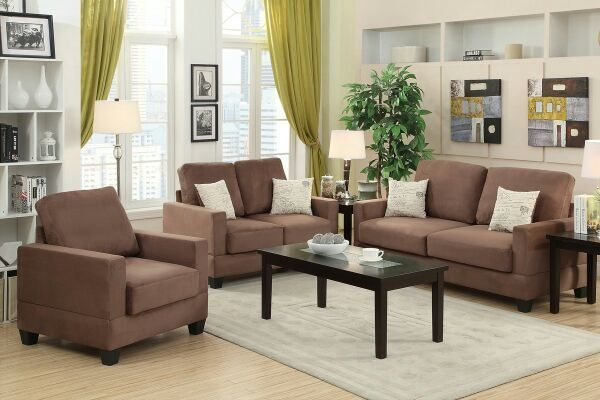 New 3 piece sofa set