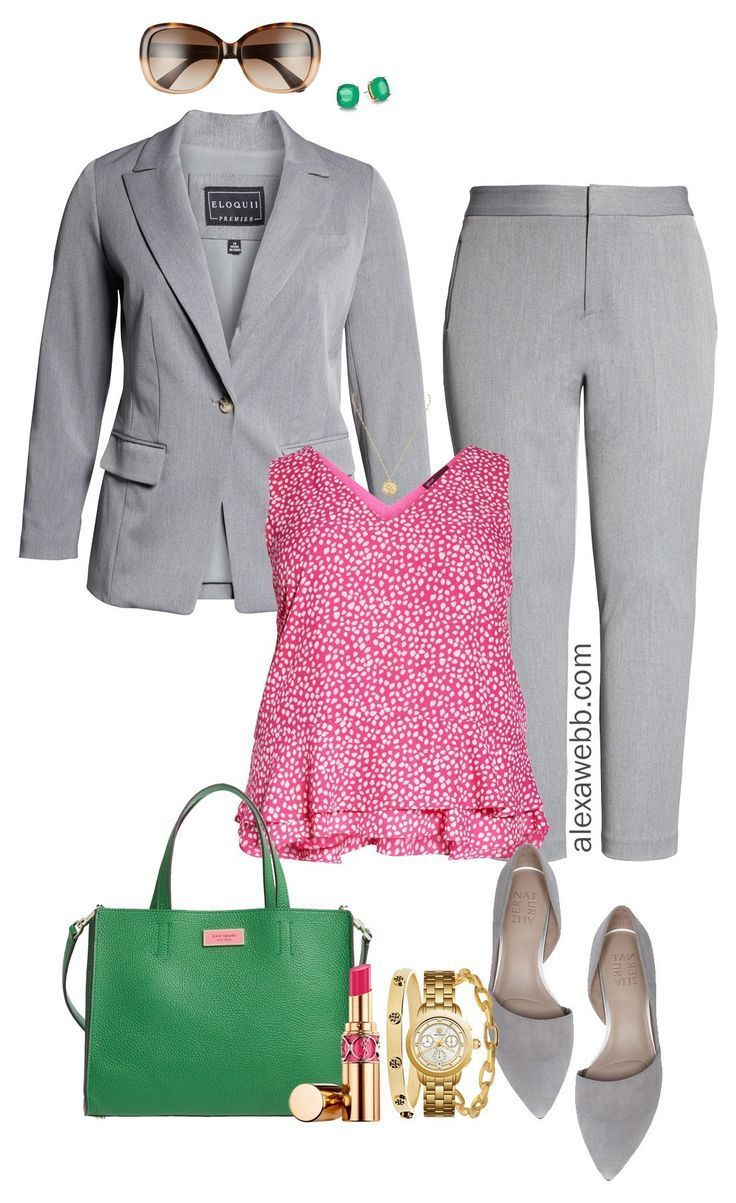 Plus Size Summer Professional Outfits – Part 1