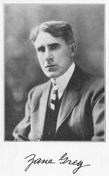 Pearl Zane Grey (1872 –1939) American author