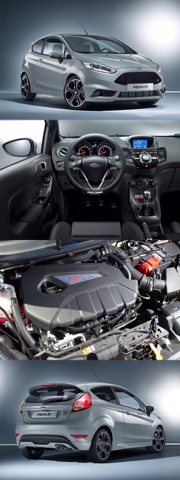 Ford fiesta has many tricks to do with petrol and diesel engines get more details at
