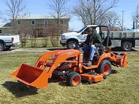 ▶ Our New Garden Tractor Kubota BX 2660 - YouTube
