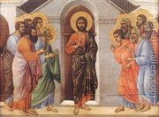 Appearence Behind Locked Doors 1308-11  by Duccio Di Buoninsegna