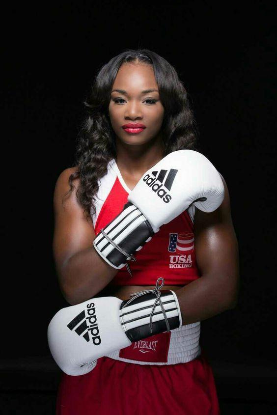 Claressa Shields.  2016 Rio Olympics Gold Medalist.  Congratulations!!!  ❤️