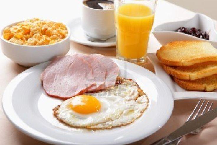 petit-déjeuner américain