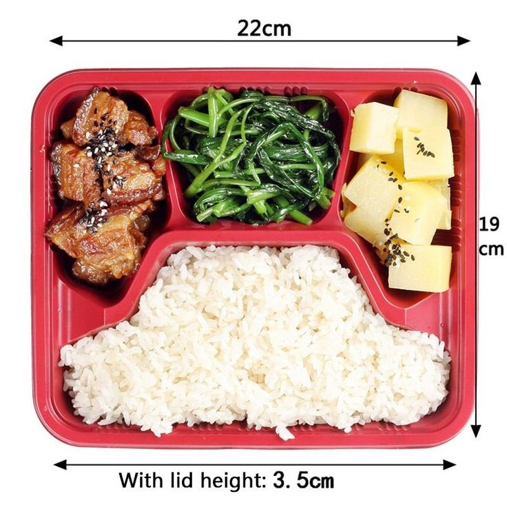 20PCs Disposable Lunch Box Convenient Takeaway Bento Boxes Food Container NEW #Unbranded
