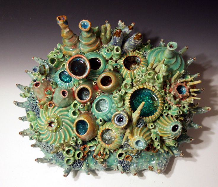 Coral Reef Sculpture by Diane Lublinski