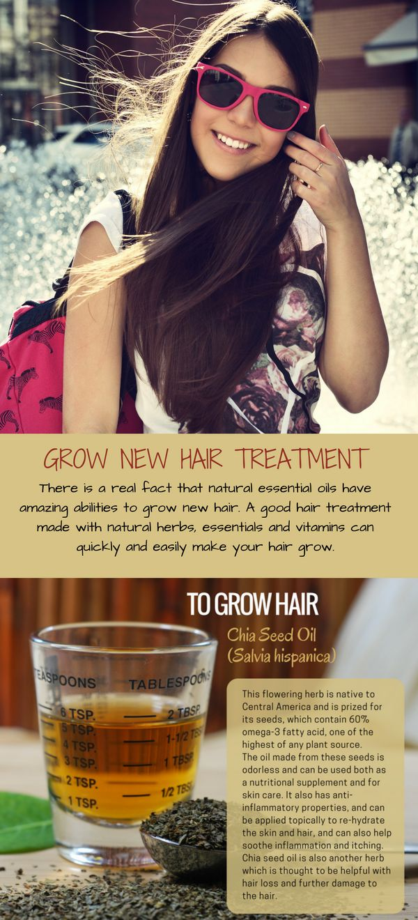 Yes, it is possible to grow new long and healthy hair without any harmful chemicals.