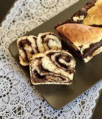 Csokis-mascarpones kalács Nutri-free Mix per Pane lisztből
