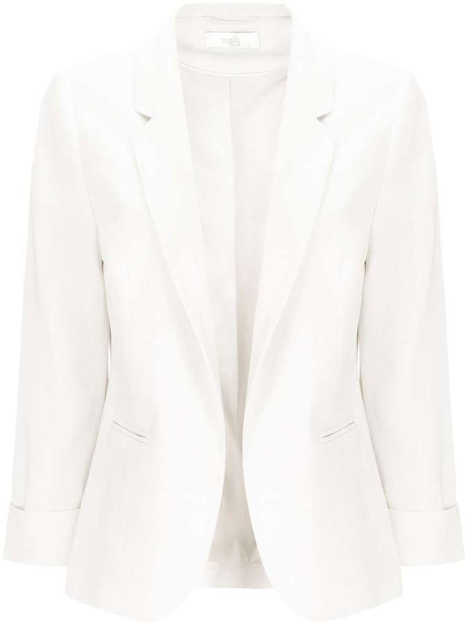 Petite Ivory Short Jacket