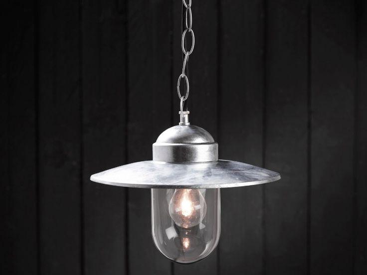 Tesco direct nordlux luxembourg 1 light pendant in galvanized steel