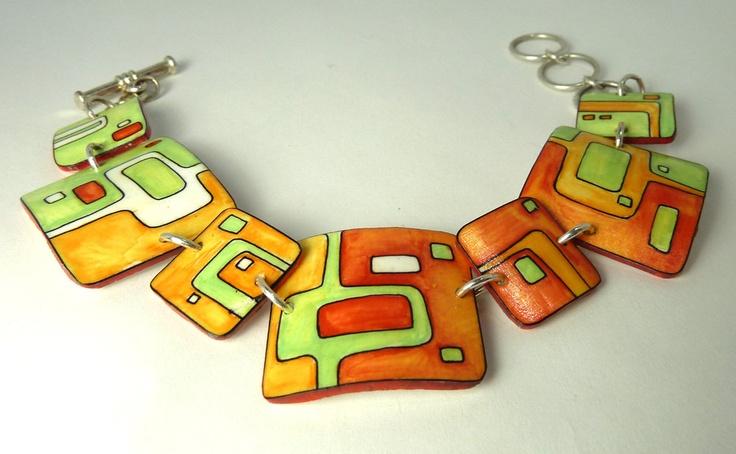 Oh Mod Bracelet by DavenportDesign, via Etsy.