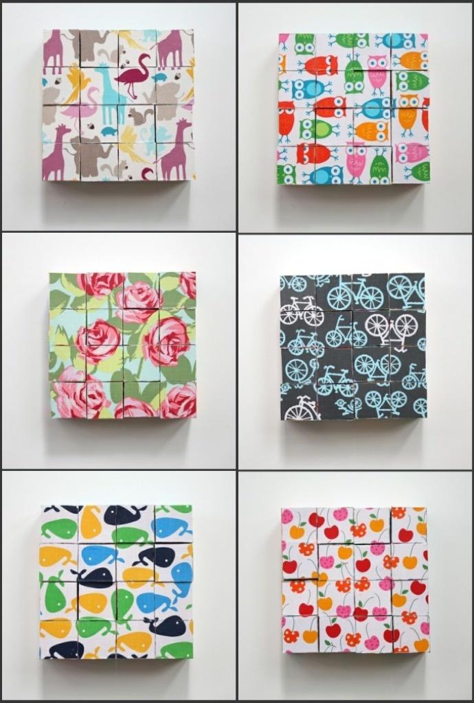 DIY wooden block puzzles-- sooooo easy and I am definitely making these!